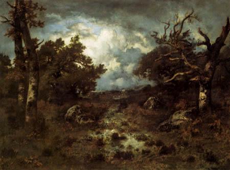 Narcisse Diaz de la Peña - A clearing near Fontainebleau