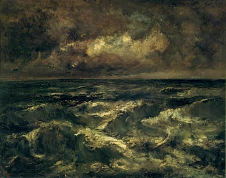 Narcisse Diaz de la Peña - Stormy Sea