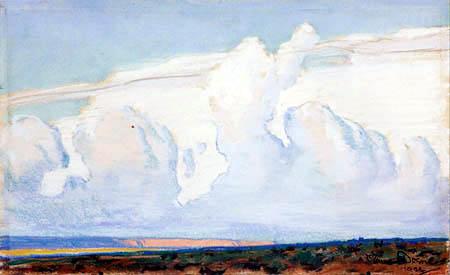 Maynard Dixon - Desert Clouds