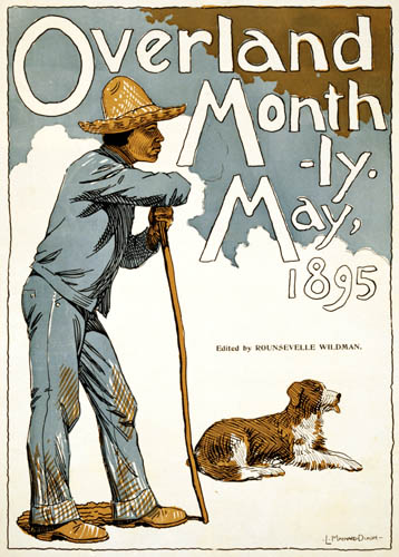 Maynard Dixon - Overland Monthly, Magazine cover 1895