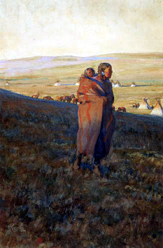 Maynard Dixon - Prairie Mother