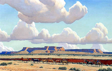 Maynard Dixon - Wide Lands of the Navajo