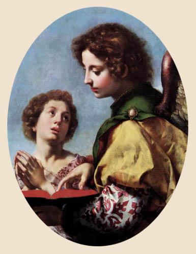 Carlo Dolci - The Guardian angel