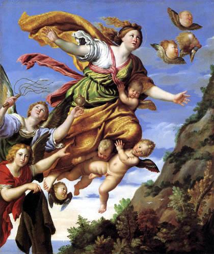Domenichino (Domenico Zampieri) - Ascensión