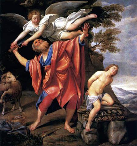 Domenichino (Domenico Zampieri) - Le sacrifice d'Isaac