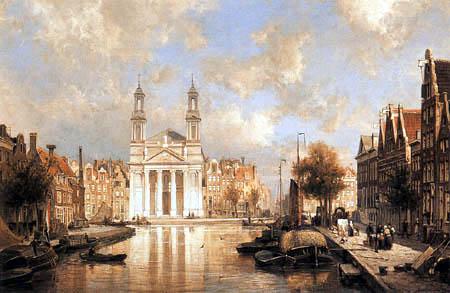 Cornelis Christiaan Dommershuizen - Die Moses und Aaron Kirche, Amsterdam