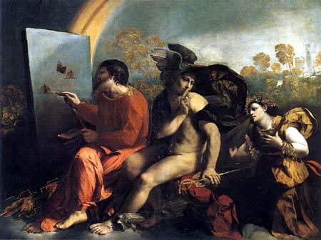 Dosso (Giovanni di Lutero) Dossi - Jupiter and Mercury