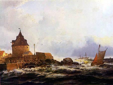 Holger Drachmann - Coast Frederiksø