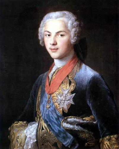 François Hubert Drouais - Louis von Bourbon