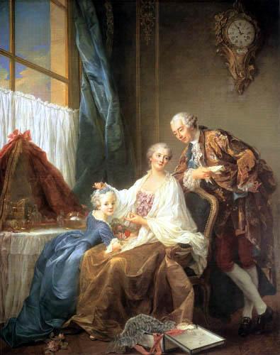 François Hubert Drouais - Gruppenporträt