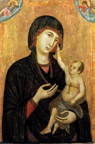 Duccio (di Buoninsegna) - Madonna Crevole