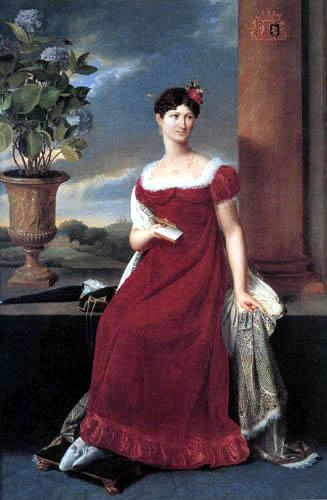 Joseph-François Ducq - Mary Lodge, Ehefrau Baron de Keverberg