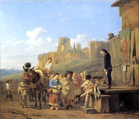 Karel Dujardin - Italienische Gaukler