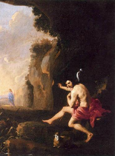 Karel Dujardin - John the Baptist