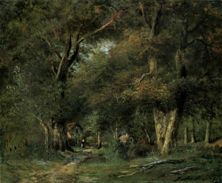 Jules Dupre - In the forest