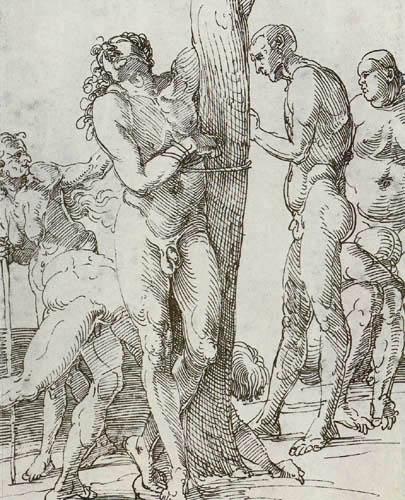Albrecht Dürer - Nackte Figuren