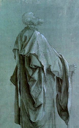 Albrecht Dürer - Stehender Apostel