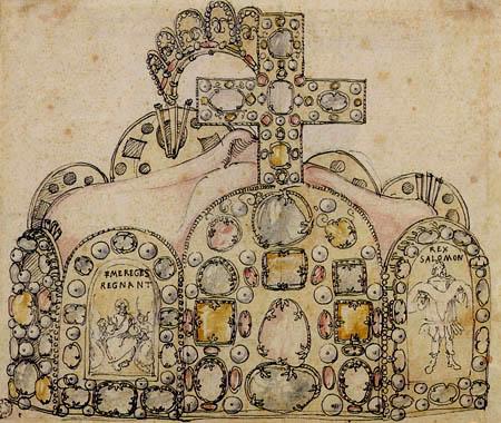 Albrecht Dürer - Realm crown