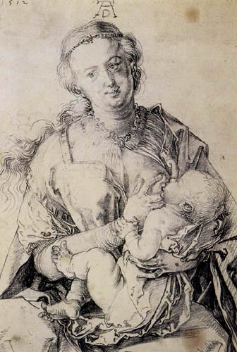 Albrecht Dürer - Virgin with Child
