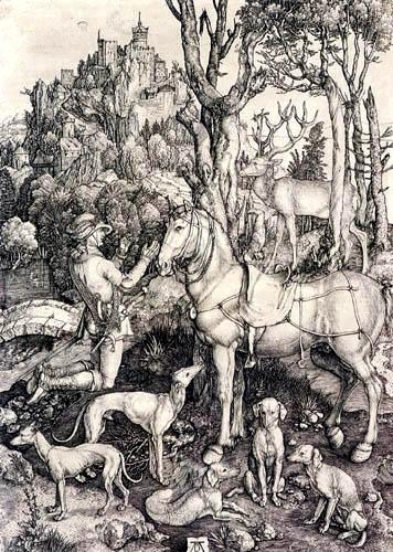 Albrecht Dürer - Saint Eustace