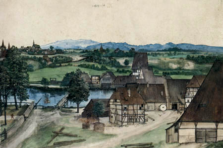Albrecht Dürer - Die Mühle