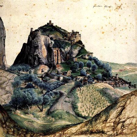Albrecht Dürer - View of Arco