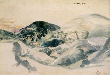 Albrecht Dürer - Landscape of the Alps