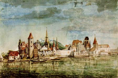 Albrecht Dürer - Blick auf Innsbruck