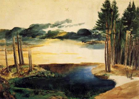 Albrecht Dürer - Ein Waldsee