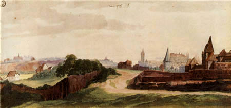Albrecht Dürer - View of Nuremberg