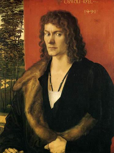 Albrecht Dürer - Bildnis des Oswolt Krel, Mitte