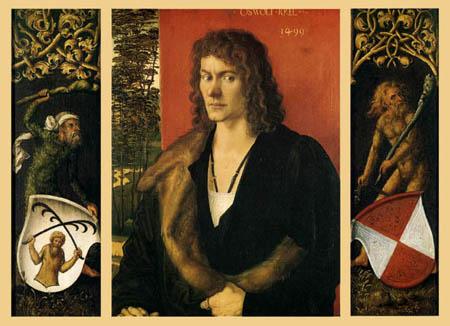 Albrecht Dürer - Bildnis des Oswolt Krel, gesamt