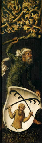 Albrecht Dürer - Bildnis des Oswolt Krel, rechts
