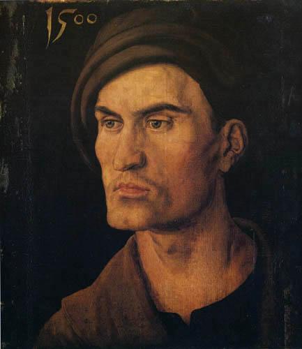 Albrecht Dürer - Bildnis eines jungen Mannes