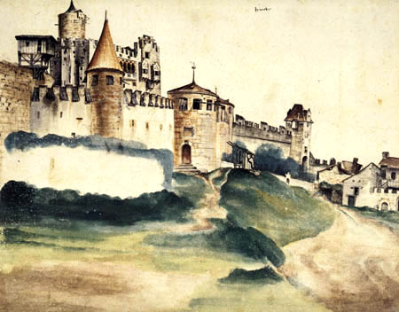 Albrecht Dürer - The castle of Trento