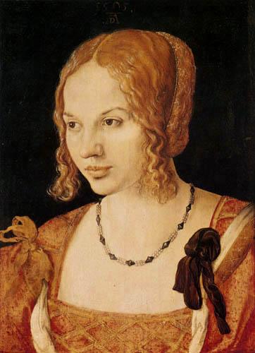 Albrecht Dürer - Portrait of a young lady