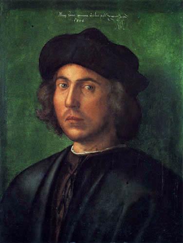 Albrecht Dürer - Portrait d'un jeune homme