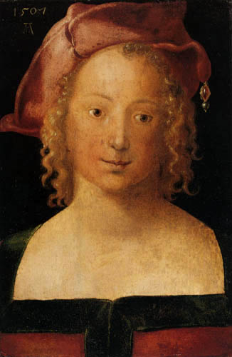 Albrecht Dürer - Portrait of a young woman