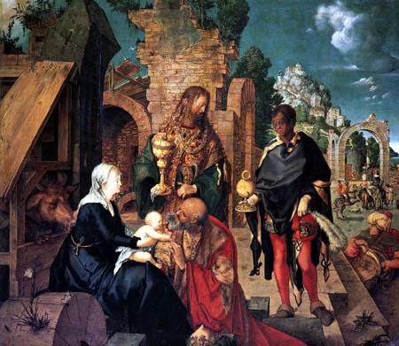 Albrecht Dürer - The Adoration of the Magi