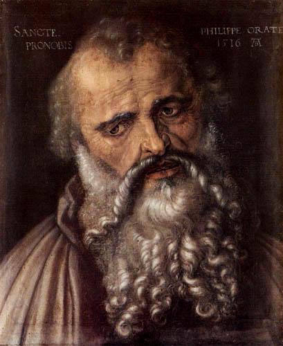Albrecht Dürer - Der Apostel Philippe
