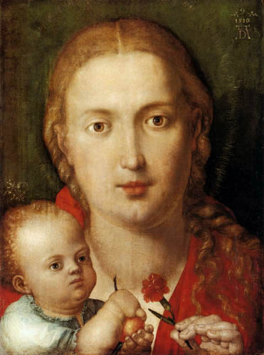 Albrecht Dürer - The Virgin and the child