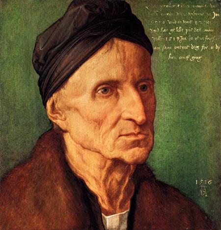 Albrecht Dürer - Bildnis des Michael Wohlgemuth