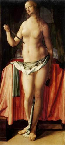 Albrecht Dürer - The suicide of the Lucretia