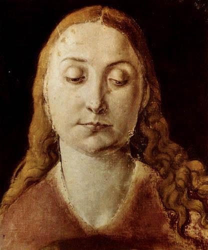 Albrecht Dürer - Head of a woman