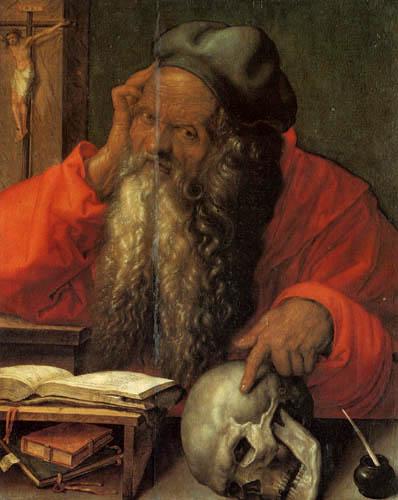 Albrecht Dürer - Saint Jerome