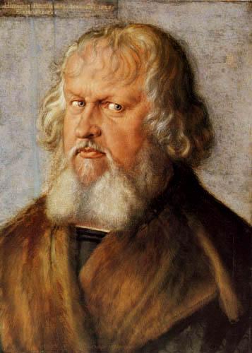 Albrecht Dürer - Portrait of Jerome Holzschuher