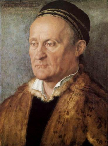 Albrecht Dürer - Portrait of Jacob Muffel
