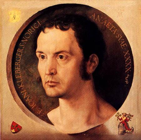Albrecht Dürer - Bildnis des Johan Kleberger