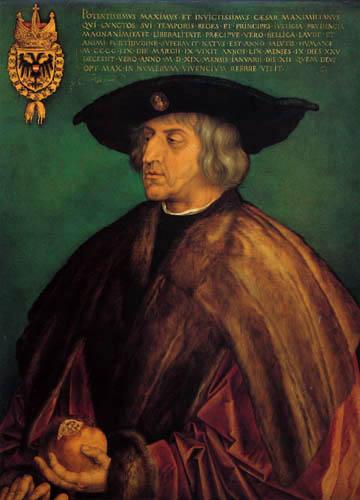 Albrecht Dürer - Kaiser Maximilian I.
