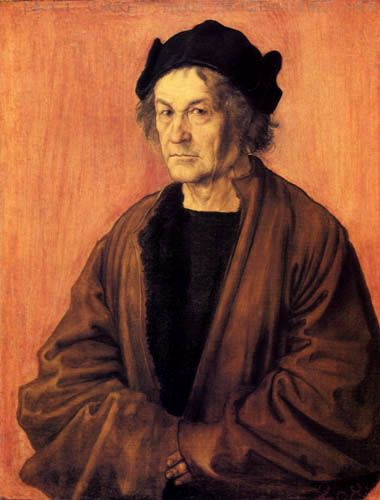 Albrecht Dürer - Portrait of the father
